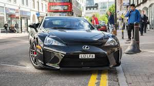 lexus lfa price in thailand car spotting in london makes you realize how poor you are