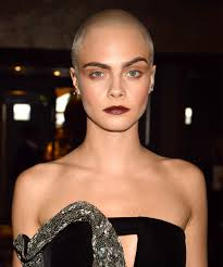 shaved heads celebrity hair trend mtv awards looks