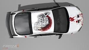 vehicle top view yakuza forza 2 car top view by bysby on deviantart
