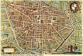 Late Medieval Europe Map by Amazing Maps Of Medieval Cities U2013 Earthly Mission Medieval Maps