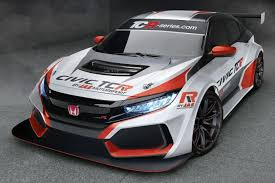 honda civic new honda civic type r tcr to go racing next year