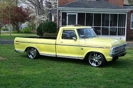 Ford F 150 Yellow Truck - 1973fordf100 1973 ford f150 regular cab specs photos