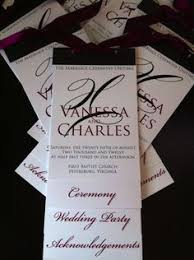 bling wedding programs color monday for weddings wedding programs wedding and