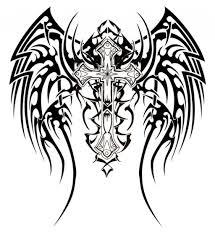 tribal cross designs design pictures