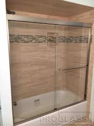Wood Shower Door by Shower Door U2013 By Pass U2013 Pro Glass