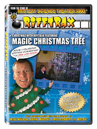 christmas with rifftrax featuring the magic christmas tree dvd