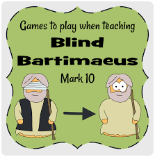 Was Bartimaeus Born Blind Bartimaeus Mark 10 Games To Play Jesuswithoutlanguage Jesus