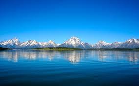 blue reflections wallpapers grand teton mountain lake reflections wallpapers hd wallpapers