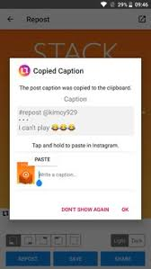 repost instagram apk repost for instagram apk free social app for android