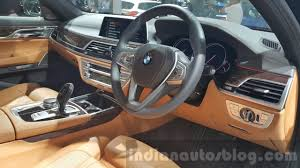 Bmw 7 Series 2016 Interior 2016 Bmw 7 Series Steering Wheel At 2015 Thai Motor Expo Indian