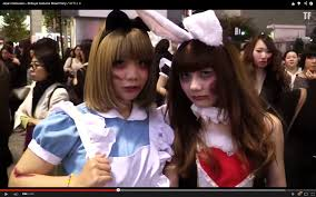 late to the game but japan does halloween right video soranews24