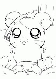 Hamster 45 Animaux  Coloriages à imprimer
