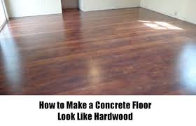 how to make a concrete floor look like hardwood u2013 iseeidoimake