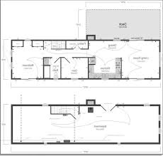 Ranch House Floor Plans With Basement Contemporary House Plans One Story Escortsea
