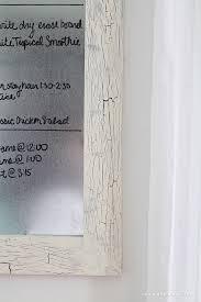 diy framed dry erase board love grows wild