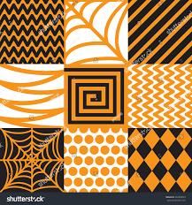 image of halloween background vector illustration cartoon set halloween background stock vector