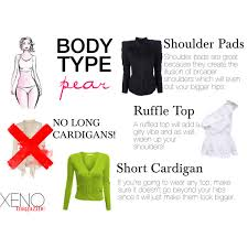 dress for your body type pear