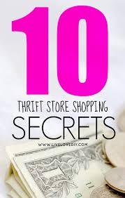 livelovediy 10 thrift store shopping secrets you should know