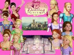 barbie 12 dances princess cartoon wallpapers