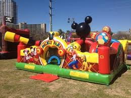 bounce house rentals houston mickey park learning club toddler combo rentals houston