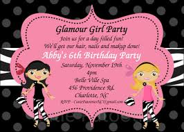 Invitation Card For Birthday Party Birthday Invites Best Girls Birthday Invitations Designs