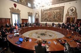 convocazione consiglio dei ministri aumenti contratto statali 85 da gennaio e 450 una