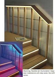 architectural outlines and lighting step light deck light