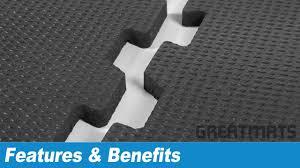 interlocking floor tiles rubber rubber gym flooring greatmats interlocking punter top tiles