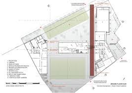 Dance Studio Floor Plans Gallery Of Evelyn Grace Academy Zaha Hadid Architects 39