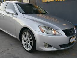 lexus is price used 2007 lexus is 250 in la mesa