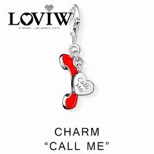s day charms call me charms women style charm party jewerly for diy