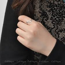 girls rings hand images Silver laurel ring adjustable rings callvogue jpg