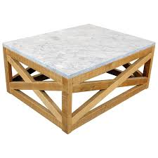 marble wood coffee table the perfect blend of two opposing