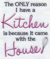 Kitchen Towel Embroidery Designs A Funny Kitchen Saying Machine Embroidery Design Sew Easy