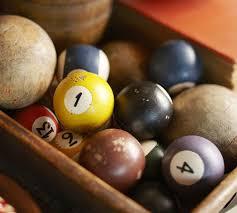 Vase Fillers Balls Vintage Pool Ball Vase Filler Pottery Barn