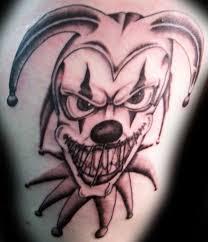33 best creepy jester tattoos images on pinterest draw skulls