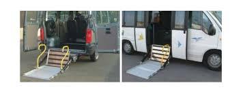 pedana per disabili sponde pedane per disabili ripieghevoli per pulmini e minibus