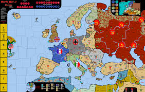 Map Of Europe 1939 by Wwii In Europe Vinyl Map U0026 Electronic Rules