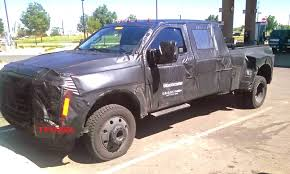 is it aluminum 2016 ford f 450 dually in the spied
