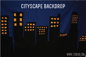 cityscape backdrop cityscape dessert table backdrop inspiration made simple