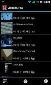 vidtrim pro apk free vidtrim pro editor to samsung s5360 galaxy y