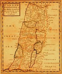 Map Of Canaan Yeah It U0027s A Map Of The Holy Land That Was Drawn In 1709 It U0027s