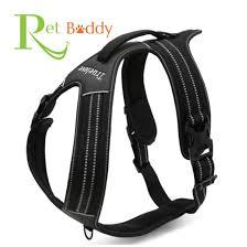 guide dog harness amazon com pet buddy u0027s stylish heavy duty no pull dog harness