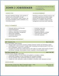 Resume Templates Perfect Ideas Free Professional Resume Templates Interesting