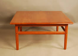 vintage square coffee table danish teak square coffee table 32d096 danish vintage modern