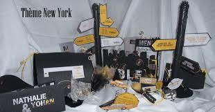 chambre theme new york faire part et décoration mariage thème new york mariage thème