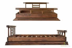 Japanese Style Platform Bed Kondo Teak Platform Bed