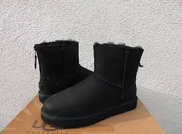 s ugg australia mini zip boots ugg australia 1007418 mini rock sheepskin leather boots