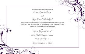 Wedding Invitation Empty Cards Wedding Invitation Template Free Theruntime Com