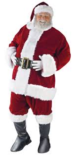 santa suit ultra velvet santa suit christmas